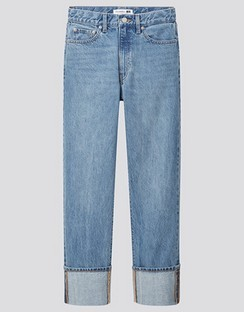 JWA High Rise Slim Fit Straight Jeans
