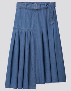 JWA Tucked Flare Skirt