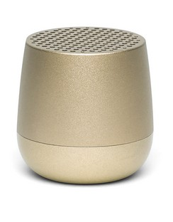 Lexon MINO + Bluetooth Speaker - Light Gold