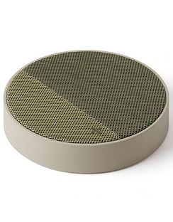 Lexon Oslo Energy Wireless Charger and Bluetooth Speaker - Green