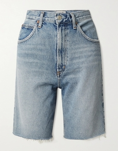 Pinch Distressed Organic Denim Shorts
