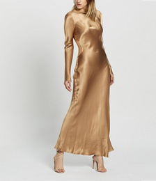 Aubrey LS Midi Dress