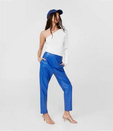 High Tide Faux Leather Tapered Pants