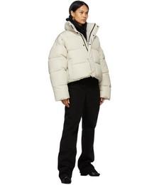 Beige BB Puffer Jacket