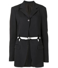 Cut-out tailored blazer