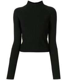 Open back ribbed top