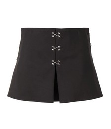Accordian A-line mini skirt