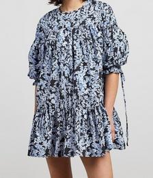 Anjelica Print Mini Dress