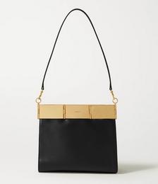Cassia Medium Leather Shoulder Bag