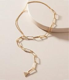 Madison Half-&-Half Chain Necklace