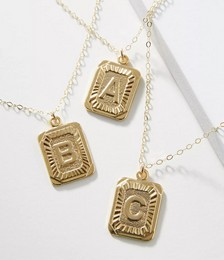 Whim Monogram Pendant Necklace