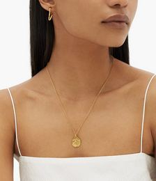 The Snake 24kt Gold-plated Necklace