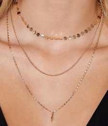 More or Less Layered Necklace