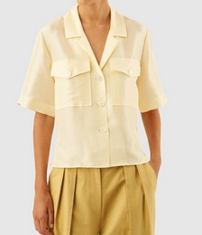 Silk Camp Shirt