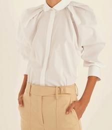 Cotton Tucked Shirt