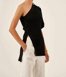 Asymmetric Knit Cardi