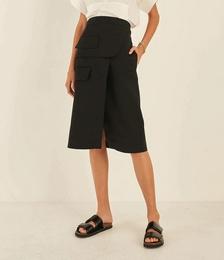 Cotton Utility Skirt