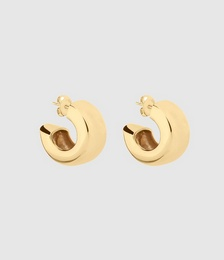 Emaille Wide Hoops