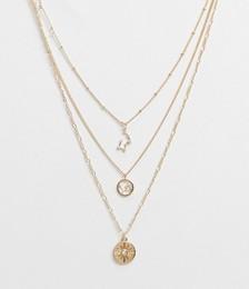 Inspired Constellation Star Multirow Necklace