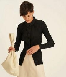 Rib Knit Polo