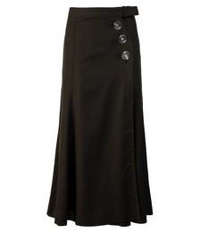 Avery Wrap Resin Button Skirt