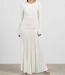 Deconstruct Long Sleeve Knit Dress