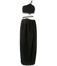 Cocoon Crystal-embellished Dress