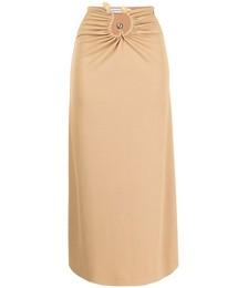Quartz Ruched Ribbed Skirt