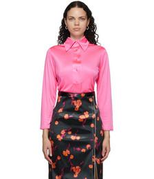 Pink Fluid Shirt