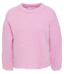 Cropped Alpaca-blend Sweater