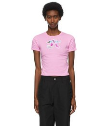 Pink Heaven by Marc Jacobs Robot Girl Baby T-Shirt