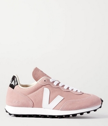 + NET SUSTAIN Rio Branco Leather-trimmed Suede and Mesh Sneakers