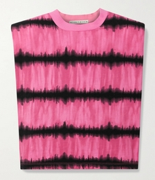 Desma Cropped Tie-dyed Cotton-jersey Tank
