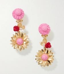 The Limoncello Gold Vermeil Multi-stone Earrings