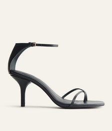 Gigi Strappy Mid Heel Sandal