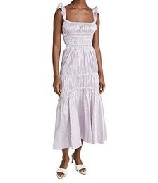 Abito Prisca Gingham Dress