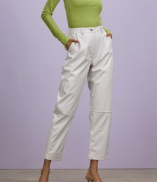 For The Lovers Faux Leather Pants