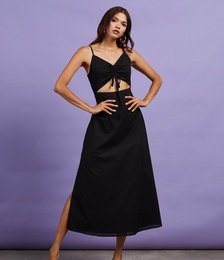 Primrose Cotton Midi Dress