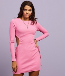 Rory Cut Out Ribbed Dress