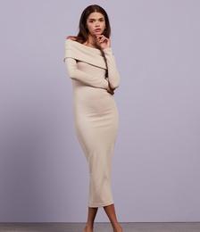 Vacay Dreaming Turnover Midi Dress