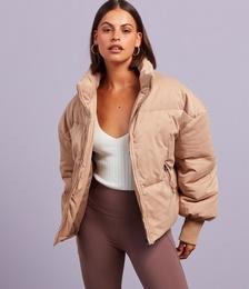 Honey Puffer Jacket