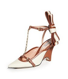 Bow Wedge Pumps