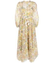 Poppy Eyelet Long Dress