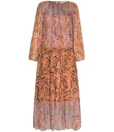 Botanica ruched maxi dress