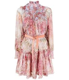 Botanica Smocked Mini Dress