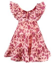 Ruffle-tiered Dress
