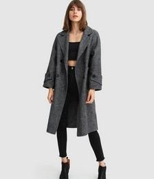 Rumour Has It Oversized Wool Blend Coat