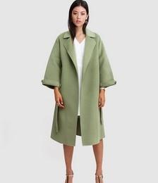 Stay Wild Oversized Wool Coat