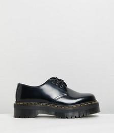 Unisex 1461 Quad Polished Smooth Shoes