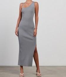 Harper Knit Asymmetric Dress